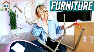 Building new furniture! Vlogmas Day 7