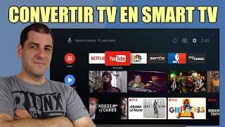 Así convertí mi TV en Smart TV y te lo muestro