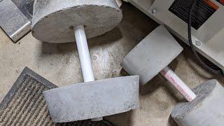 DIY Concrete Weights