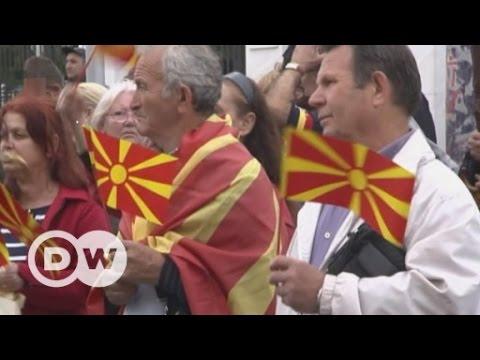 Mazedonien: Pulverfass am Rande Europas | DW Deutsch