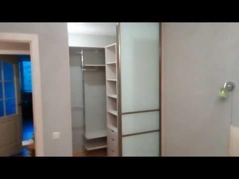 Встроенная гардеробная 2 кв