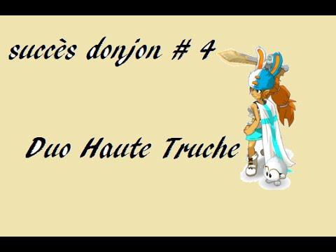 Dofus oxydia succ s donjon 4 duo haute truche youtube for Haute truche