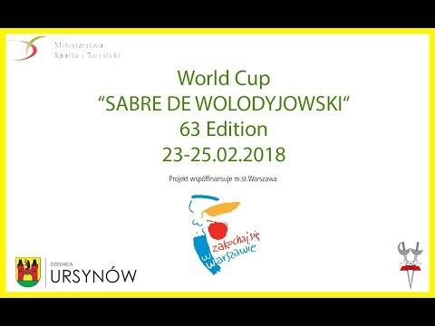 2018 Men's Sabre World Cup Warsaw - T8 - Finals