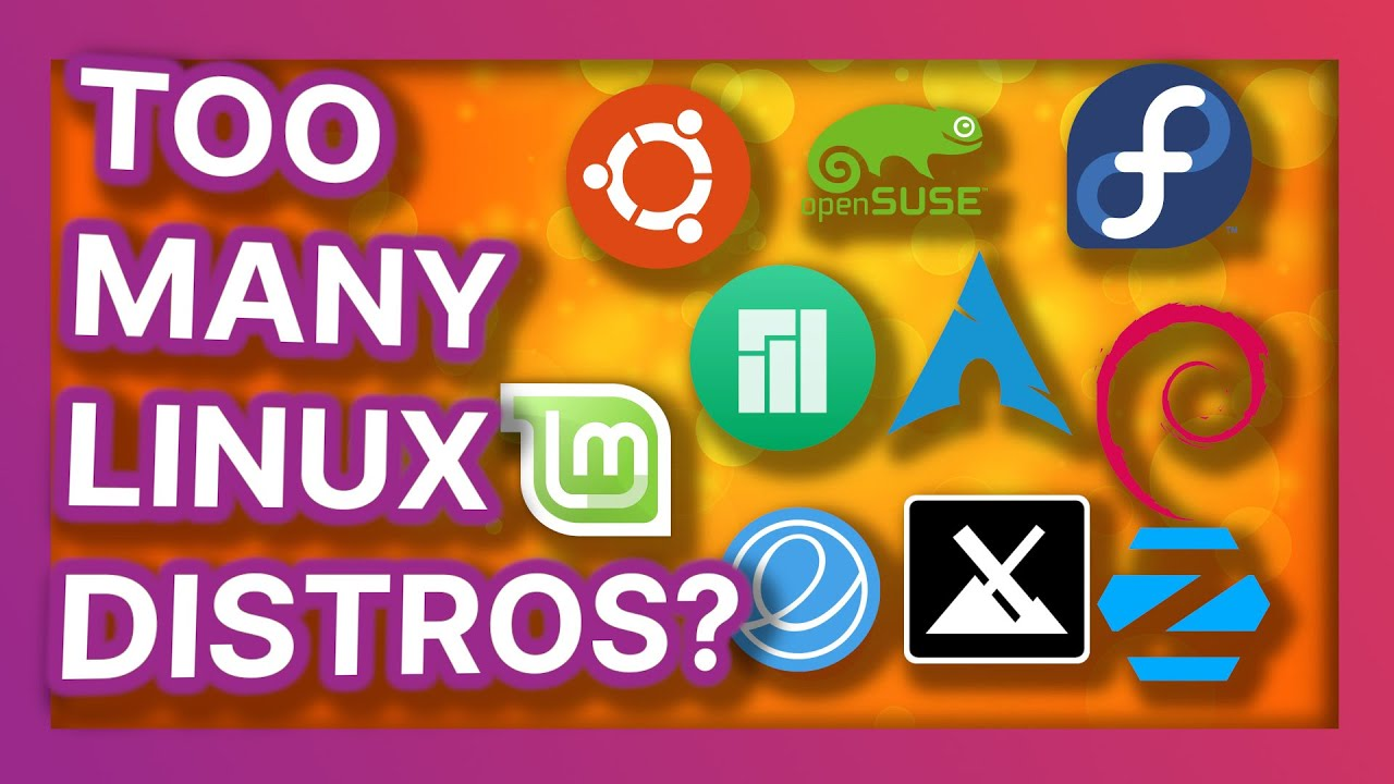 Download Do we have too many Linux distros, and is it really an issue?