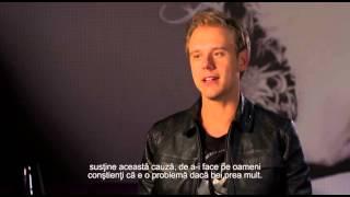 Armin van Buuren despre consumul de alcool
