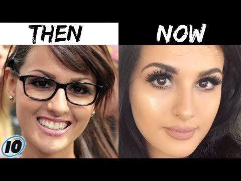 Top 10 Influencers Who Claim They Haven't Had Plastic Surgery - Part 2
