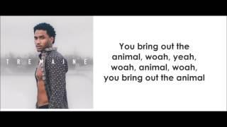 Trey Songz - Animal (lyrics)
