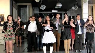 AUCA Diversity Week 2014: Indian Delegation Flashmob
