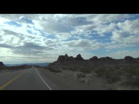 Hwy 95 Arizona to Hwy 62 to Twenty Nine Palms, California