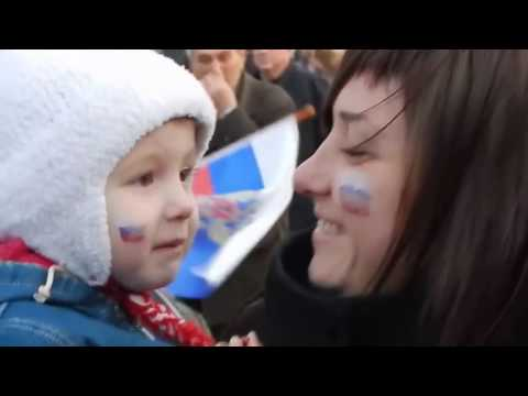 Sevastopol celebrates  A referendum on reunification of Crimea to Russia