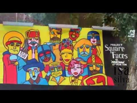 Trabalhos em Arte Urbana até Maio 2016 - My works in streetart until May 2016