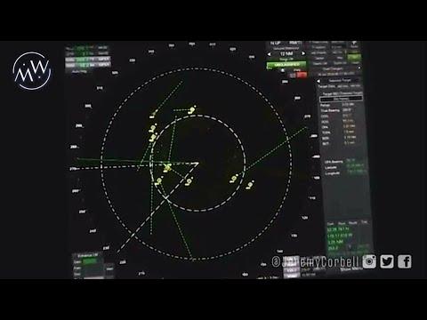 Radar della USS Omaha documenta ben 14 UFO mentre circondano la nave