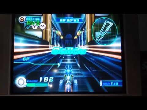 Sonic Riders Zero Gravity: Nightside Rush Single Lap 00'08''58 Time Attack Replay
