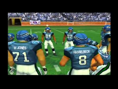 Pittsburgh Steelers vs Seattle Seahawks Pretend Super Bowl 40 Madden NFL 2006