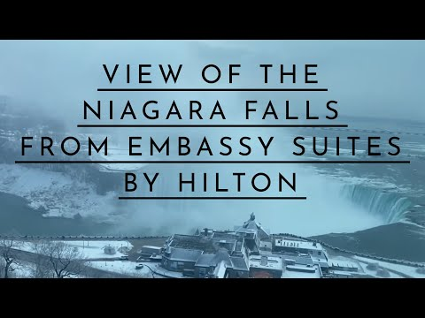 NIAGARA FALLS VIEW From Embassy Suites By Hilton, 20th Floor