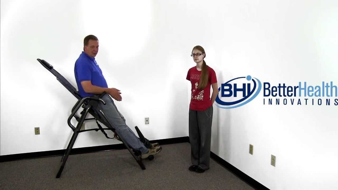 How To Adjust A Teeter Inversion Table For Different User Heights ...