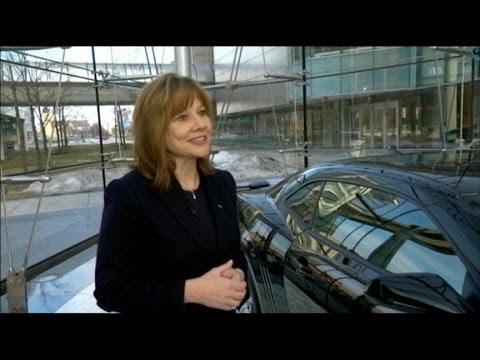 New GM CEO Mary Barra: