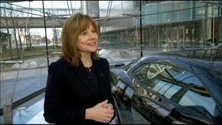 New GM CEO Mary Barra: