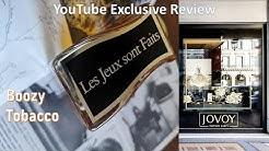 Jovoy Les Jeux Sont Faits Exclusive review [19] Episode # 139