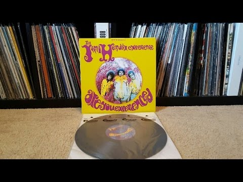 Unboxing - The Jimi Hendrix Experience Are You Experienced Vinyl LP Reissue (88843059851)