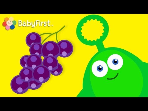 Grapes and Bugs   Learning Cartoons for Babies  Bloop and Loop  BabyFirst TV