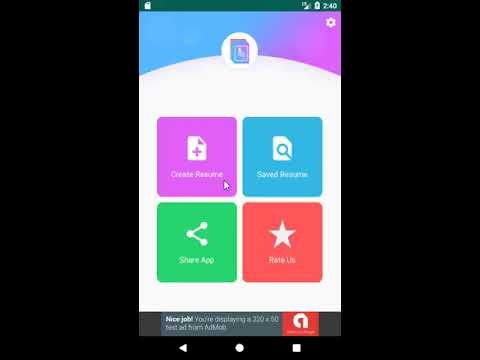 Free Resume Maker app-CV Builder app free Template - Apps on Google Play