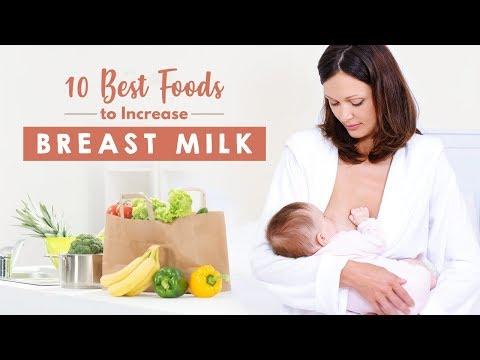 10 Best Foods To Increase Breast Milk