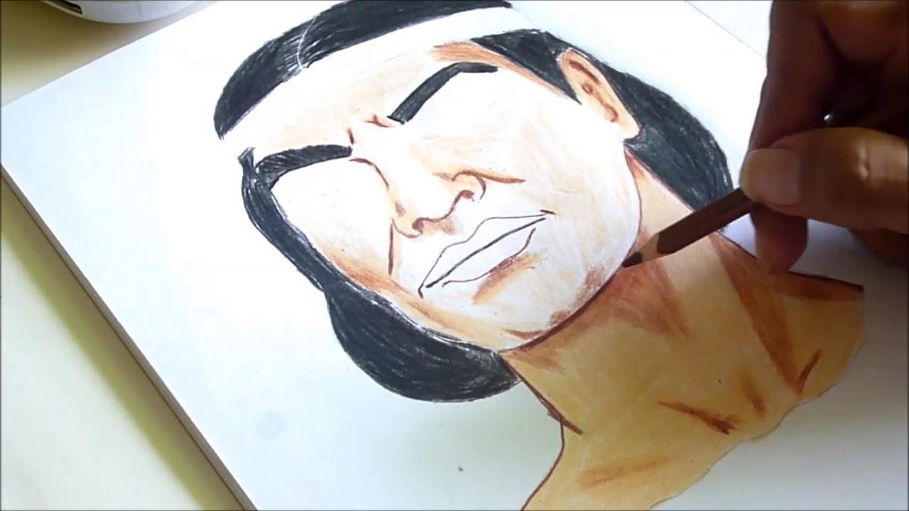Dibujando Al Cacique Guaicaipuro Venezuela