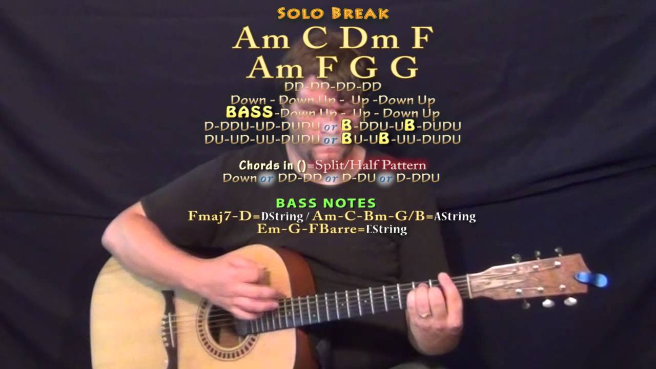 Midnight Train Garth Brooks Guitar Lesson Chord Chart Youtube
