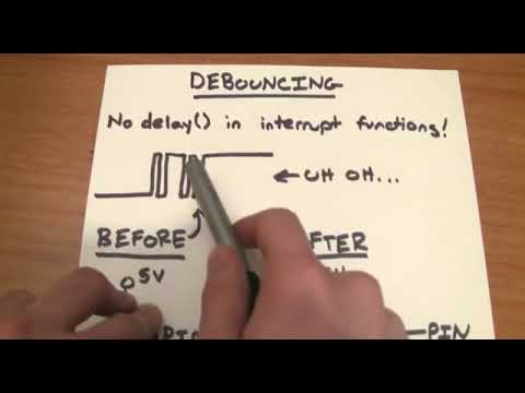 Видеоуроки по Arduino  Прерывания 10 я серия, ч1