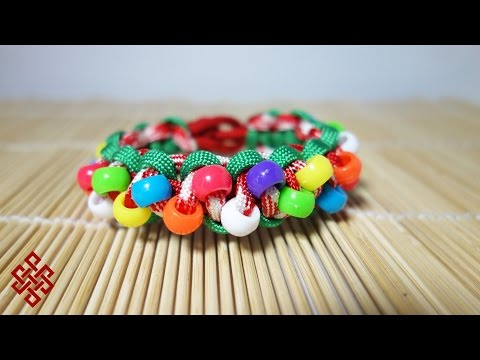 How To Make An Christmas Sweater Paracord Celet