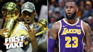 LeBron won't be a Lakers legend because he won't win a title in L.A. - Stephen A. | First Take