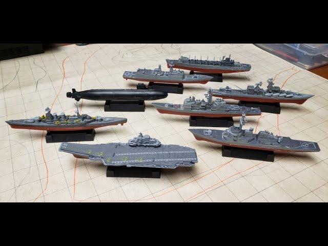 REVIEW - Navy Toy Model Warships from Kvvdi