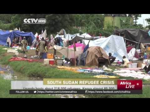 Nearly 40,000 South Sudanese have fled to Uganda