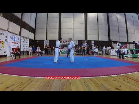 -70, 1/8 Volodymyr Chernozubenko (UKR) - Adbullah Mingsar (TUR, aka)  - 32nd European Championship