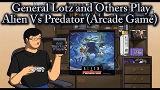 Alien Vs Predator (Arcade Game) Full Playthrough