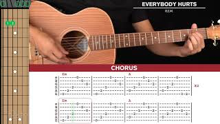 Download lagu Everybody Hurts Guitar Cover REM 🎸|Tabs + Chords|
