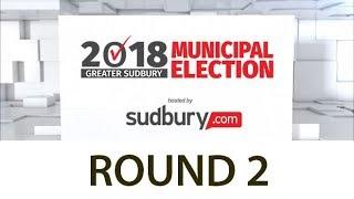 LIVE: 2018 Greater Sudbury Municipal Election (round 2)