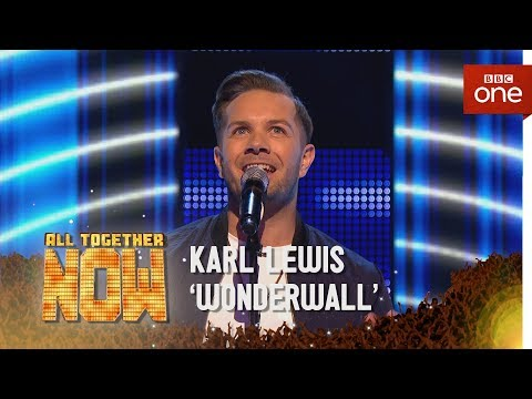 Karl Lewis performs 'Shut Up And Dance' by Walk The Moon - All Together Now: Episode 2 - BBC One