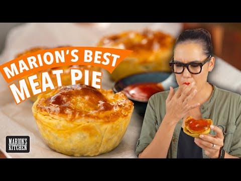 My BEST Aussie Meat Pie   Marion's Kitchen