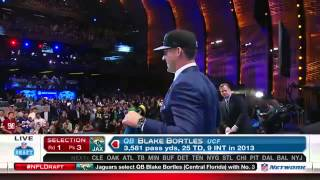 Jaguars select Bortles | NFL Draft 2014
