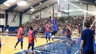 KU basketball camp scrimmage — Blue team highlights