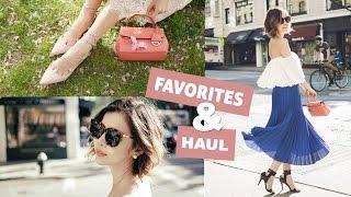 April Favorites u0026 fashion Haul | 四月愛用小物 u0026 流行購物分享 | Pieces of C 主播
