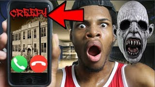 CALLING MY HAUNTED SCHOOL AT 3AM AND THEY ANSWERED!!!! *OMG SO CREEPY*