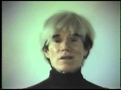 "Excerpt From Paige Powell's 1983 Video Of Andy Warhol, From ""The Ride"" At The Portland Art Museum"