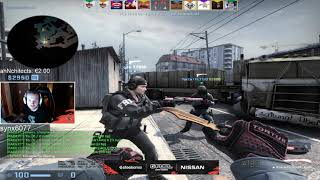 Faze Niko Plays Faceit FPL Overpass - CSGO Twitch Clips