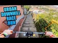 CRAZY URBAN MTB DOWNHILL TRACK - FULL RACE RUN!