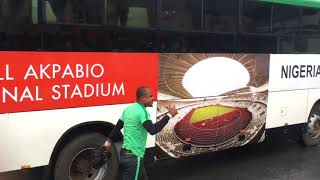 ROAD TO RUSSIA 2018: Super Eagles arrive for day 2 training for the Zambia match
