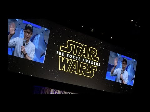 Star Wars Celebration - The Force Awakens Teaser #2 Audience Reactions!