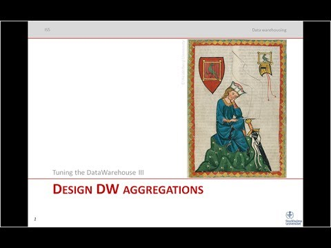Tuning the Data Warehouse: Building aggregations